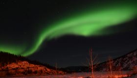 """Aurora Borealis over Dawson City"" (Mirko Thiele)"