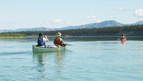 Yukon River 2D | Whitehorse to Lake Laberge, Multi-Day Tour, Adventure, Summer/Fall, Canoeing, Fishing, Wildlife Viewing, Sightseeing, Camping