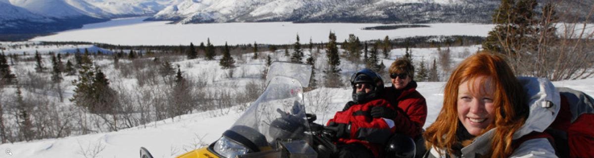 Arctic Day: Snowmobiling | half or full day