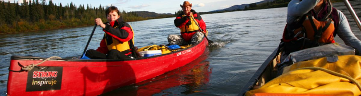 Arctic Day: Canoeing Tour | half or full day