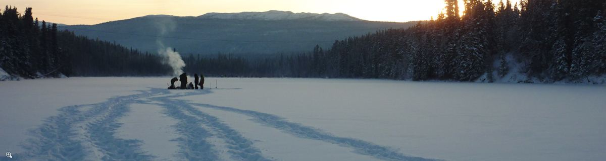 Arctic Day: Ice Fishing & Snowshoeing | half or full day
