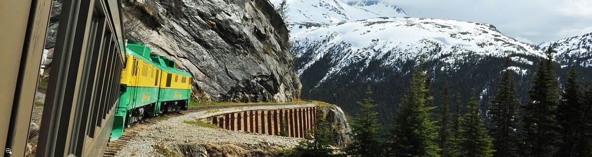 Arctic Day: White Pass Train & Skagway | full day