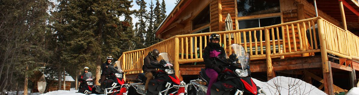 Northern Winter Wilderness | Tagish lodge
