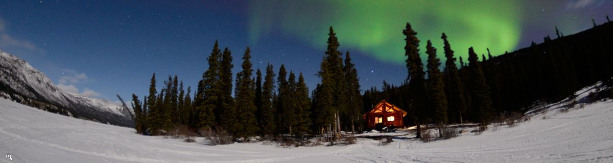 Yukon Winter Adventure  | Private Lake Cabin