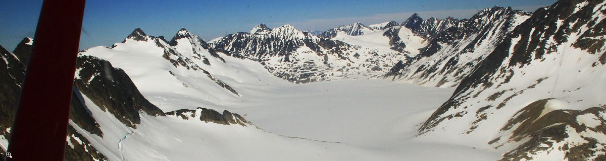 Arctic Day: Chilkoot Pass & Icefields Tour | Sightseeing Flight