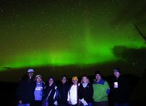 Happy times under the Northern Lights