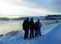 Group at the Yukon River