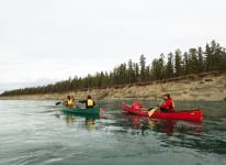 Group on the Yukon River