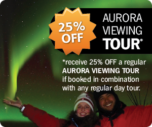 25% OFF Aurora Viewing Tours