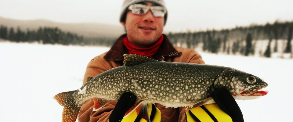 Arctic Day: Ice Fishing & Snowshoeing | half day