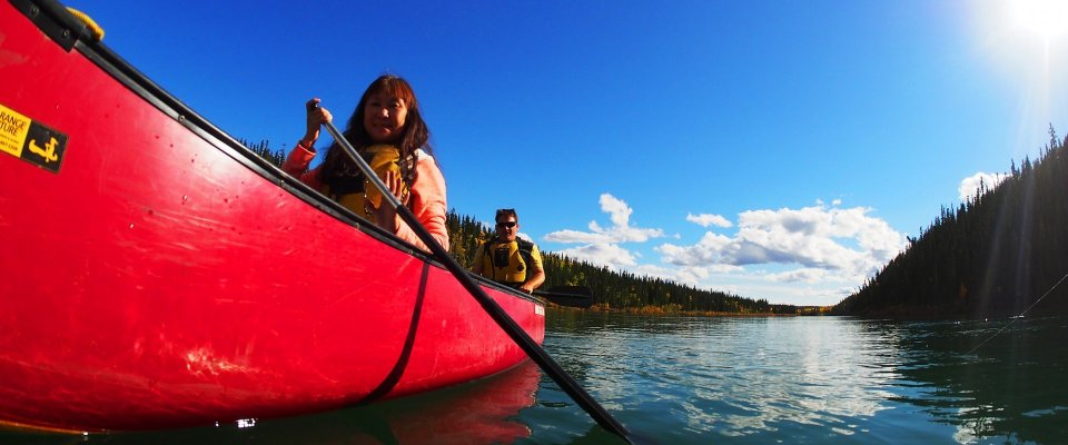 Arctic Day: Canoeing Tour | half day