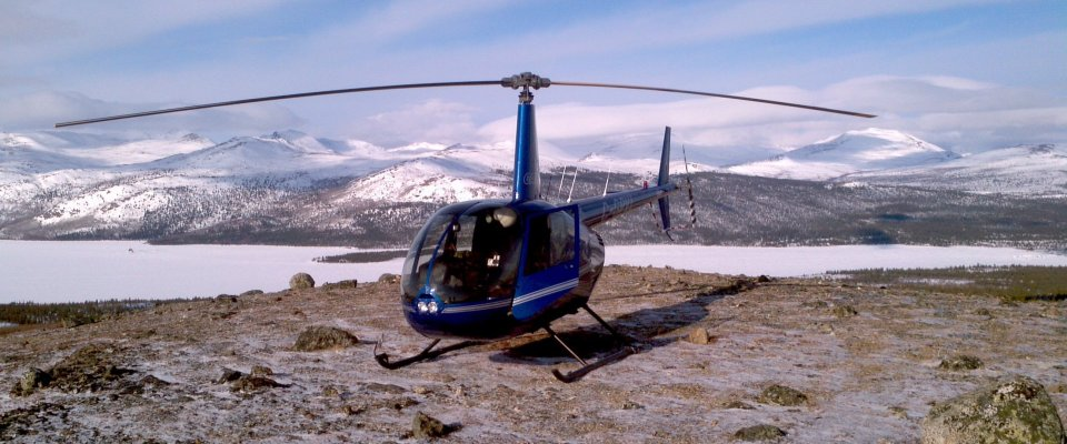 Arctic Day: Helicopter Mountain Tour | Sightseeing Flight