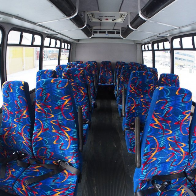 Mini-Bus Interior