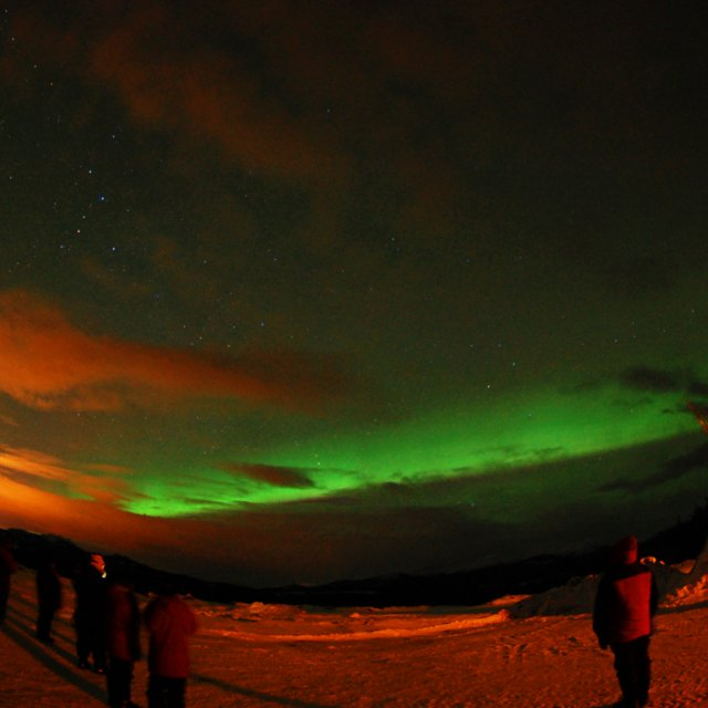 Arctic Day: Aurora Viewing | evening (Mar 16, 2012)