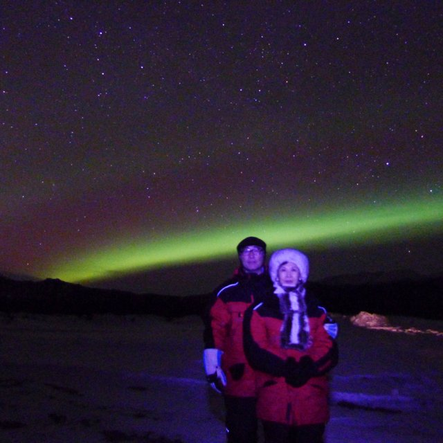 Arctic Day: Aurora Viewing | evening (Mar 23, 2012)