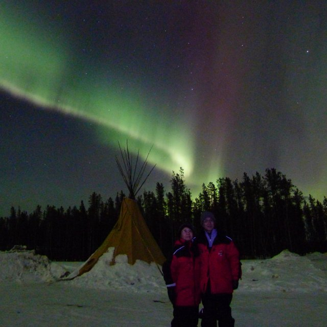 Arctic Day: Aurora Viewing | evening (Mar 27, 2012)