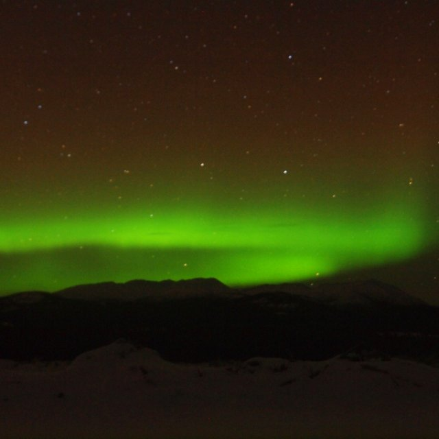 Arctic Day: Aurora Viewing | evening (Dec 17, 2011)