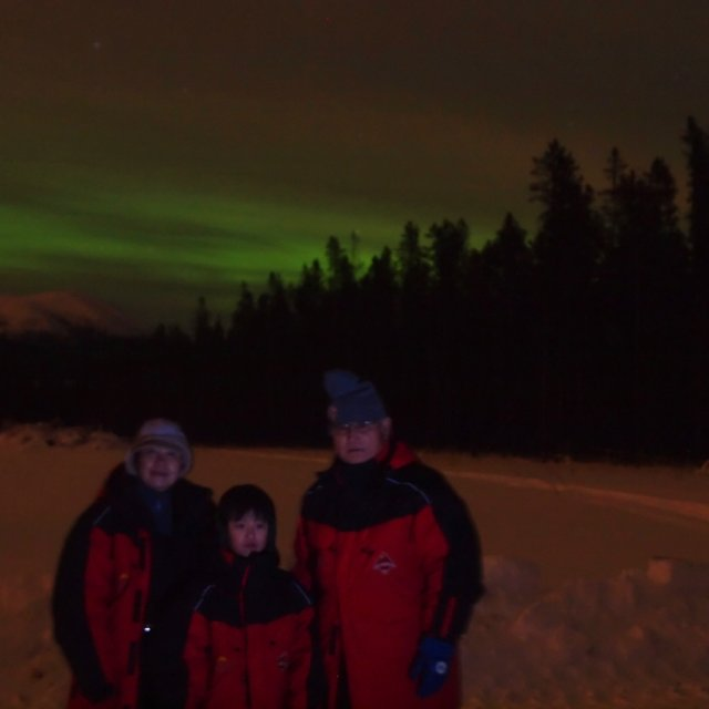 Arctic Day: Aurora Viewing | evening (Dec 25, 2011)