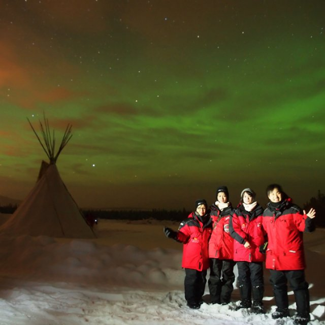 Arctic Day: Aurora Viewing | evening (Dec 29, 2011)