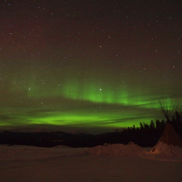 Arctic Day: Aurora Viewing | evening (Mar 13, 2012)
