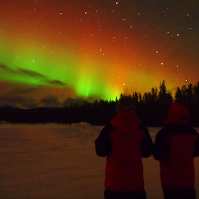 Arctic Day: Aurora Viewing | evening (Dec 18, 2011)