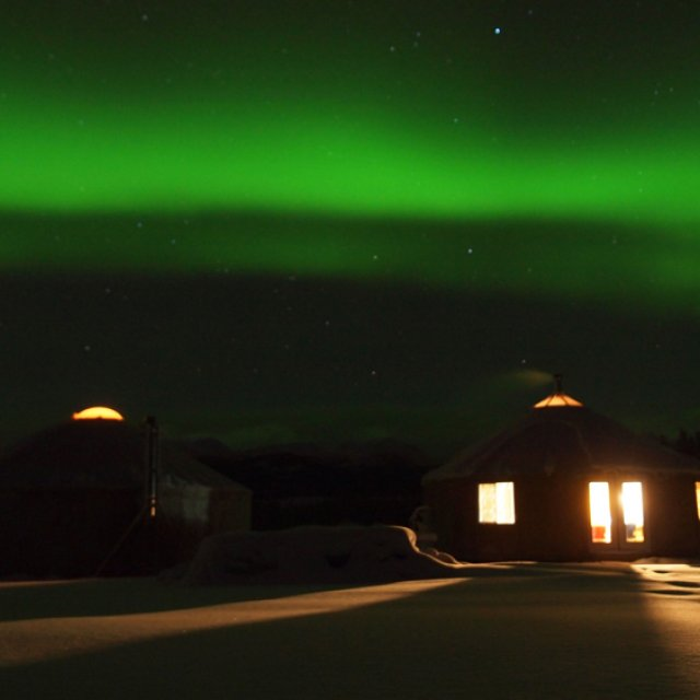 Arctic Day: Aurora Viewing | evening (Dec 30, 2011)