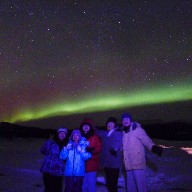 Arctic Day: Aurora Viewing | evening (Mar 18, 2012)