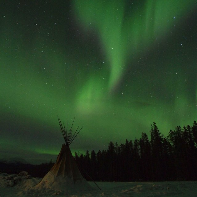 Arctic Day: Aurora Viewing | evening (Mar 02, 2012)