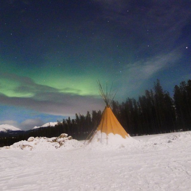 Arctic Day: Aurora Viewing | evening (Mar 04, 2012)