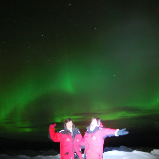 Arctic Day: Aurora Viewing | evening (Nov 26, 2011)