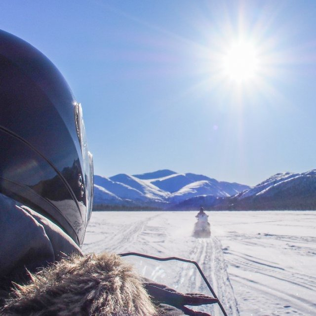 Arctic Day: Snowmobiling | half day (Feb 16, 2019)