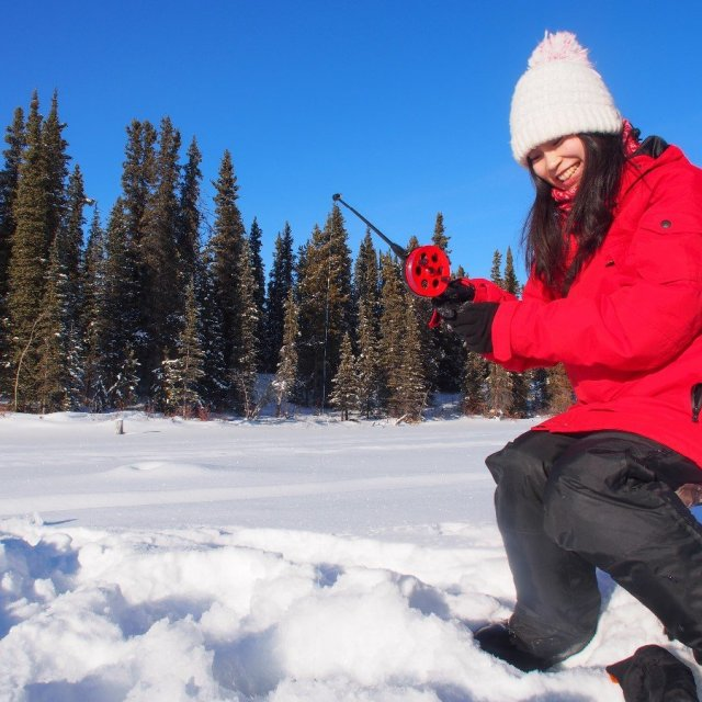 Arctic Day: Ice Fishing | half day (Feb 10, 2019)