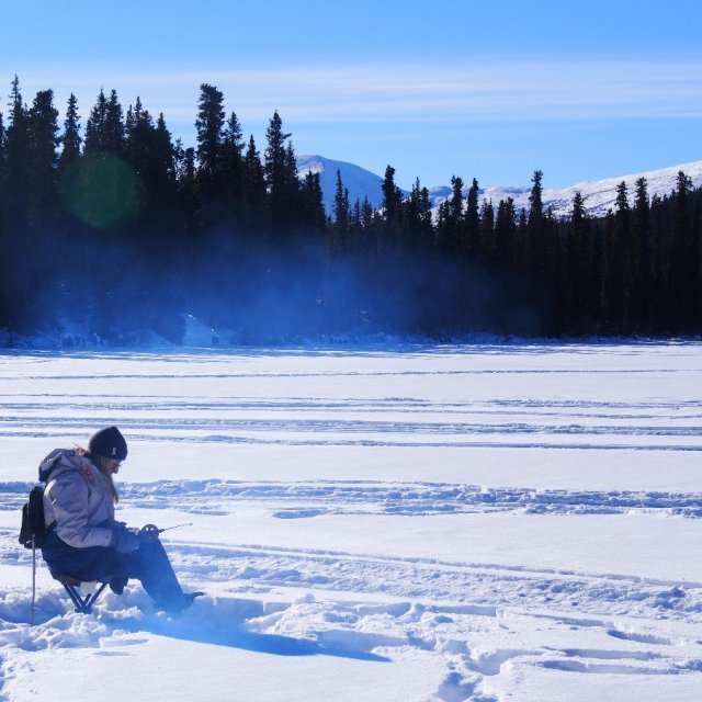 Arctic Day: Ice Fishing | half day (Mar 4, 2019)