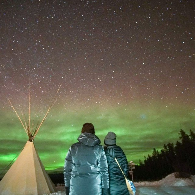 Arctic Day: Aurora Borealis Viewing | evening (Feb 4, 2019)