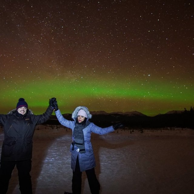 Arctic Day: Aurora Borealis Viewing | evening (Feb 10, 2019)