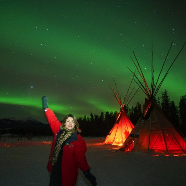 Arctic Day: Aurora Borealis Viewing | evening (Feb 7, 2019)