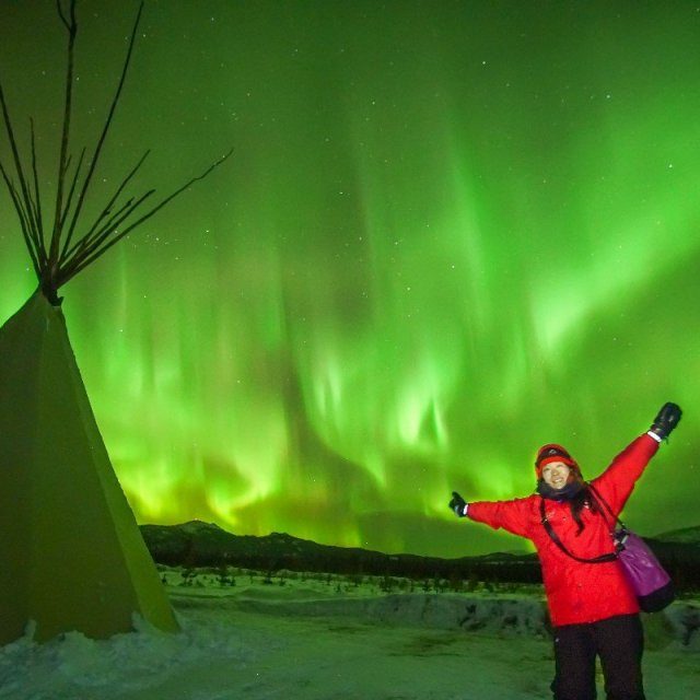 Arctic Day: Aurora Borealis Viewing | evening (Feb 27, 2019)