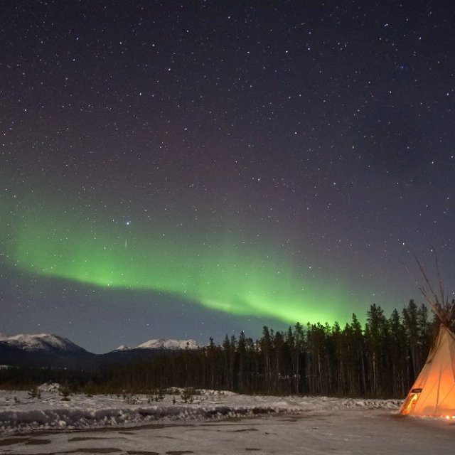 Arctic Day: Aurora Borealis Viewing | evening (Mar 12, 2019)