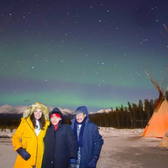 Arctic Day: Aurora Borealis Viewing | evening (Mar 14, 2019)
