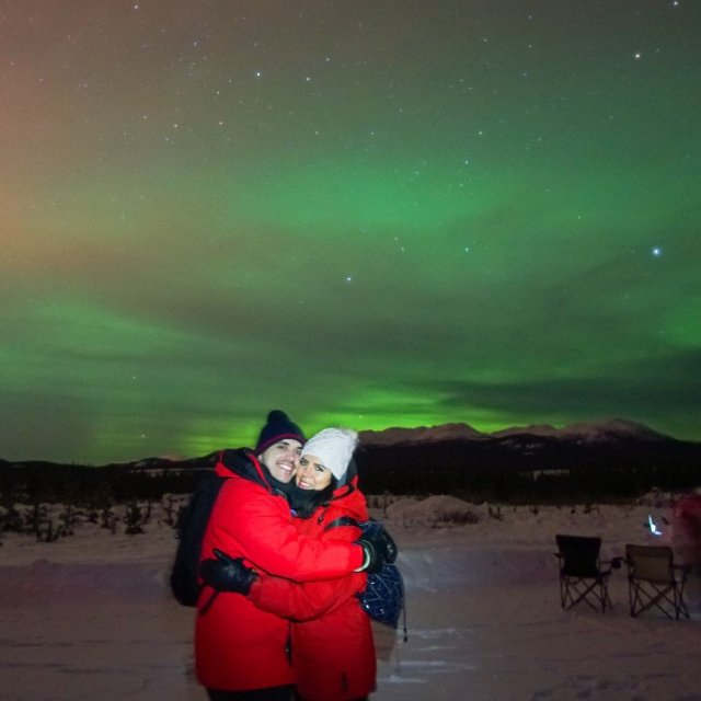 Arctic Day: Aurora Borealis Viewing | evening (Feb 8, 2019)