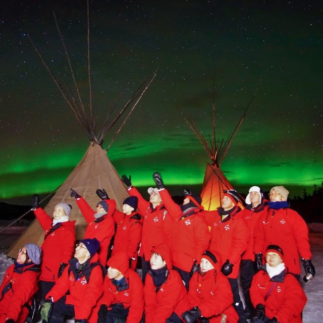 Arctic Day: Aurora Borealis Viewing | evening (Mar 7, 2019)