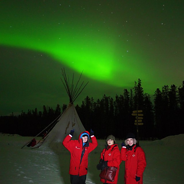 Arctic Day: Aurora Viewing | evening (Feb 28, 2013)