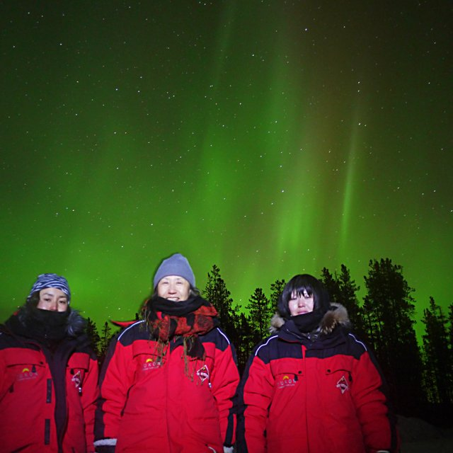 Arctic Day: Aurora Viewing | evening (Mar 1, 2013)
