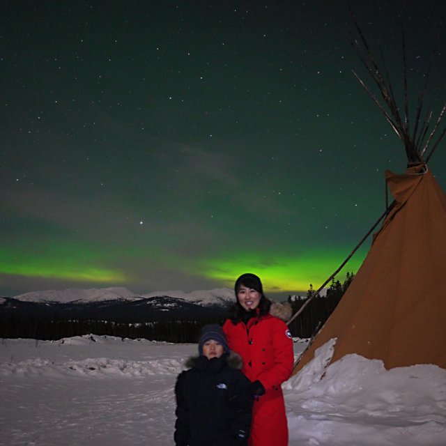 Arctic Day: Aurora Viewing | evening (Mar 19, 2013)