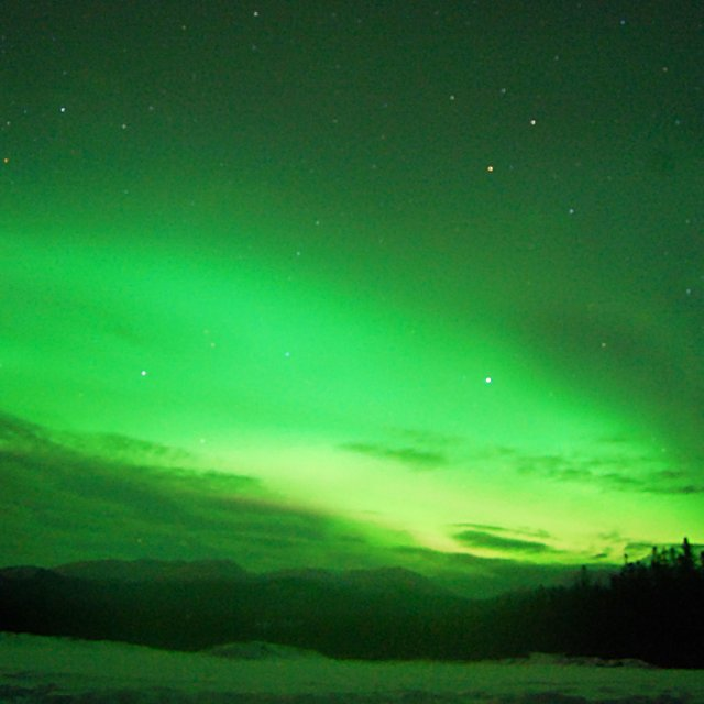 Arctic Day: Aurora Viewing | evening (Mar 15, 2013)