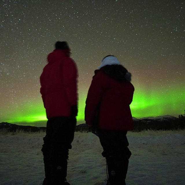 Arctic Day: Aurora Borealis Viewing | evening (Dec 13, 2018)