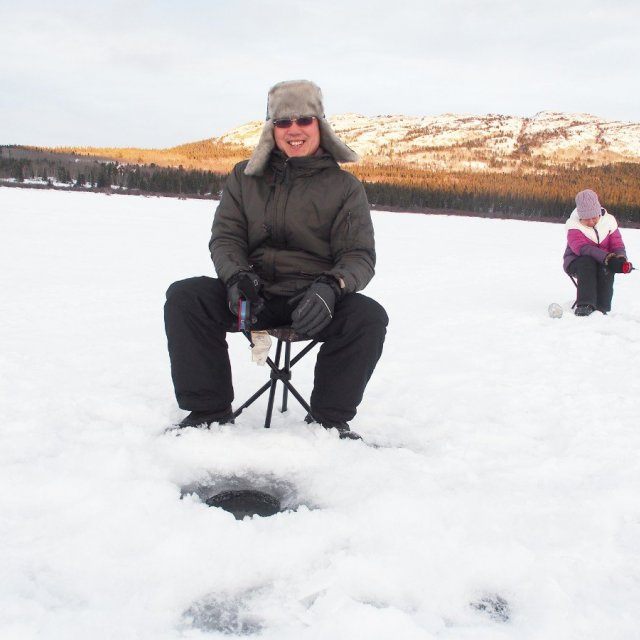 Arctic Day: Ice Fishing | half day (Dec 24, 2019)