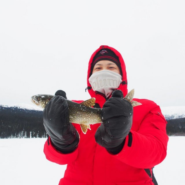 Arctic Day: Ice Fishing | half day (Mar 7, 2020)