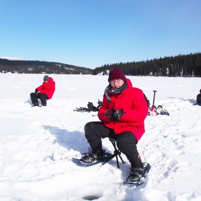 Arctic Day: Ice Fishing & Snowshoeing | half day (Mar 11, 2020)