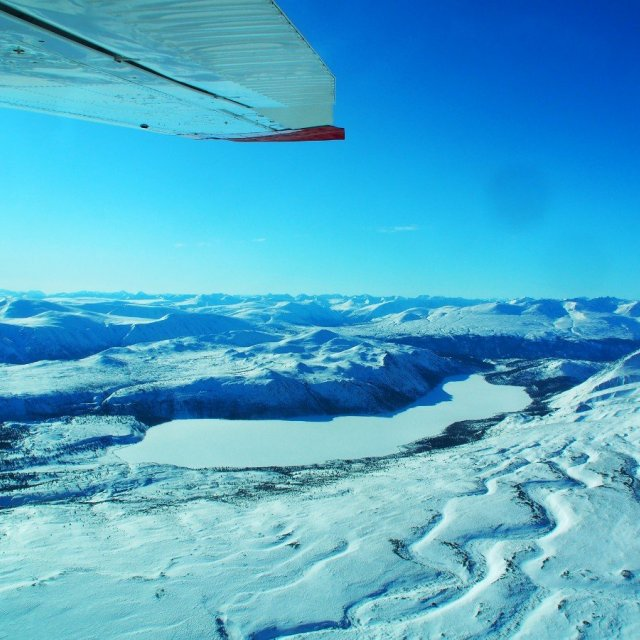 Arctic Day: Chilkoot Pass & Icefields Tour | Sightseeing Flight (Mar 15. 2020)